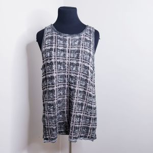 Charming Charlie Plaid Sweater Vest